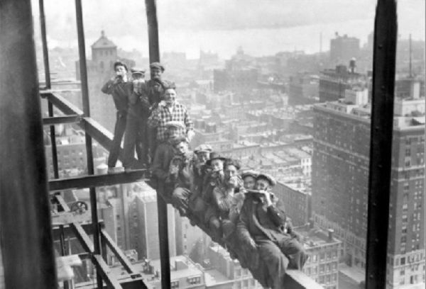 Holding It Down – Builders of City Skysers | TROVE GENERAL STORE