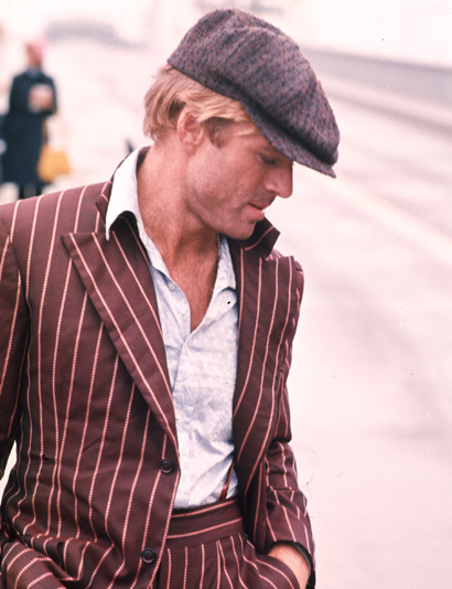 "Robert Redford On The Set Of ""The Sting"" In The USA"